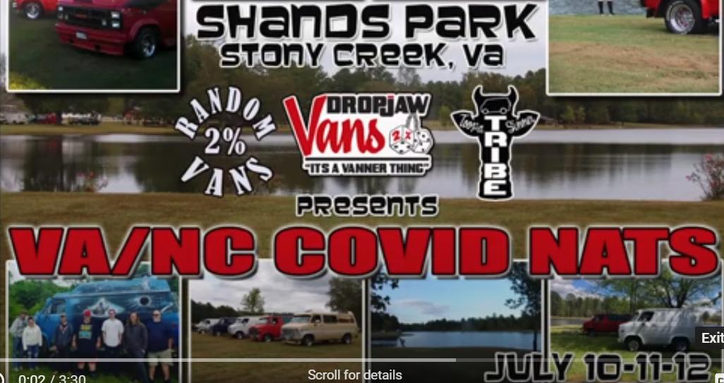 The VA/NC COVID VAN NATS