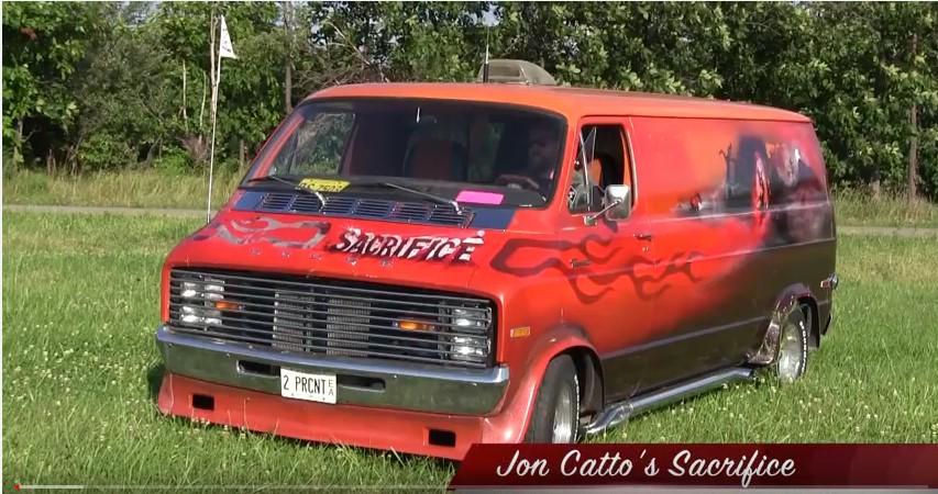 "Jon Catto's 1975 Dodge Van ""Sacrific"