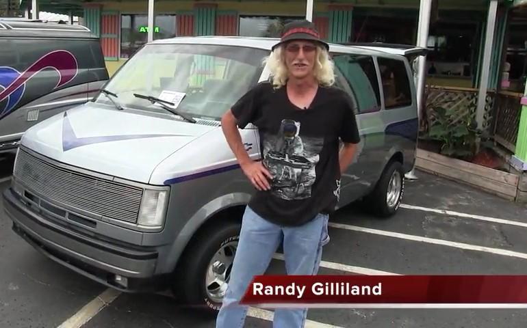 Randy Gilliland 1993 Chevy Van
