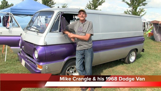 Mike Crangle & his 1968 Dodge Van