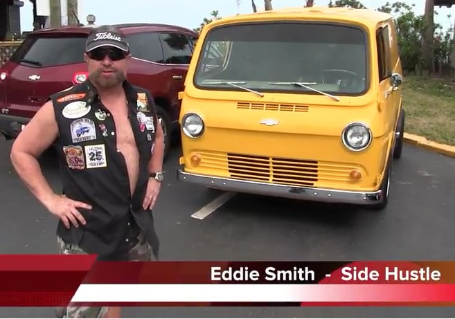 Eddie Smith 1965 Chevy Van
