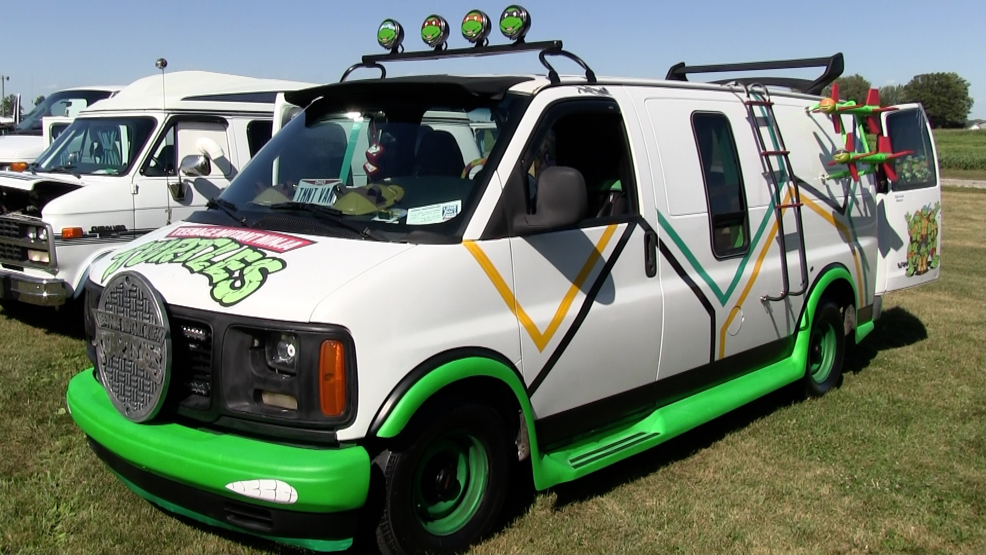 Tom Mazurs' Turtle Van