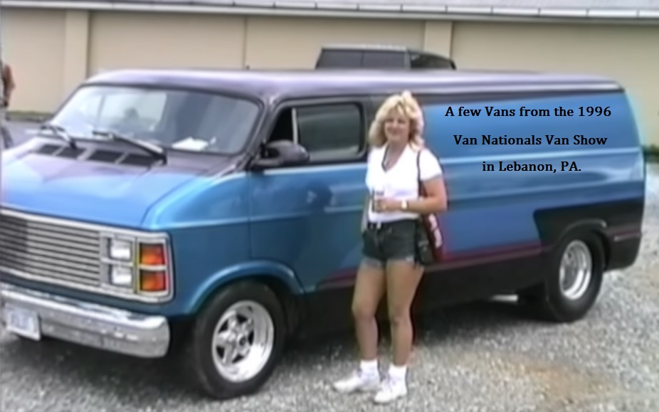 Jo at 1996 Van Nationals in  PA