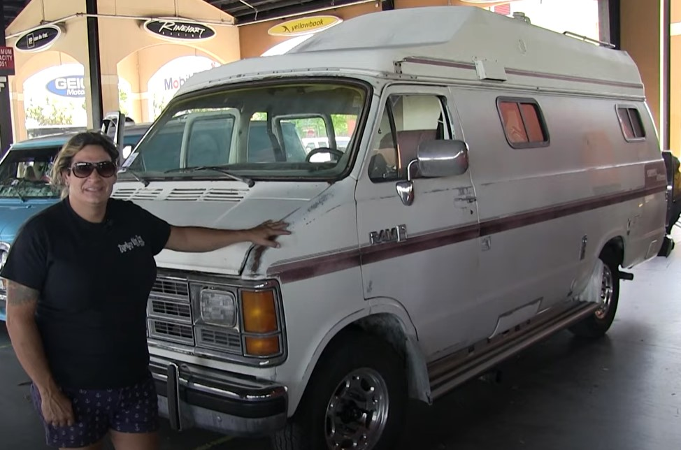Jessica Aquata 1988 Dodge Coach