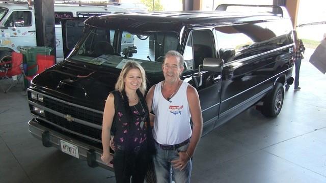 Bullwinkle & Rocky's 1995 Chevy Van