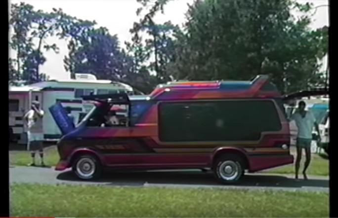 1986 Bikini State Van Show