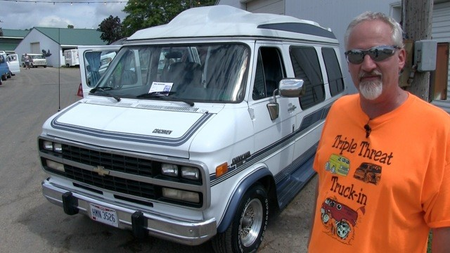 Jason Cook's  1992 Chevy Hightop
