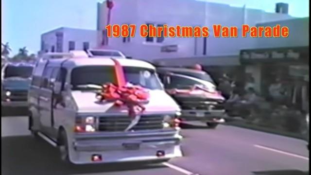 Christmas Van Parade