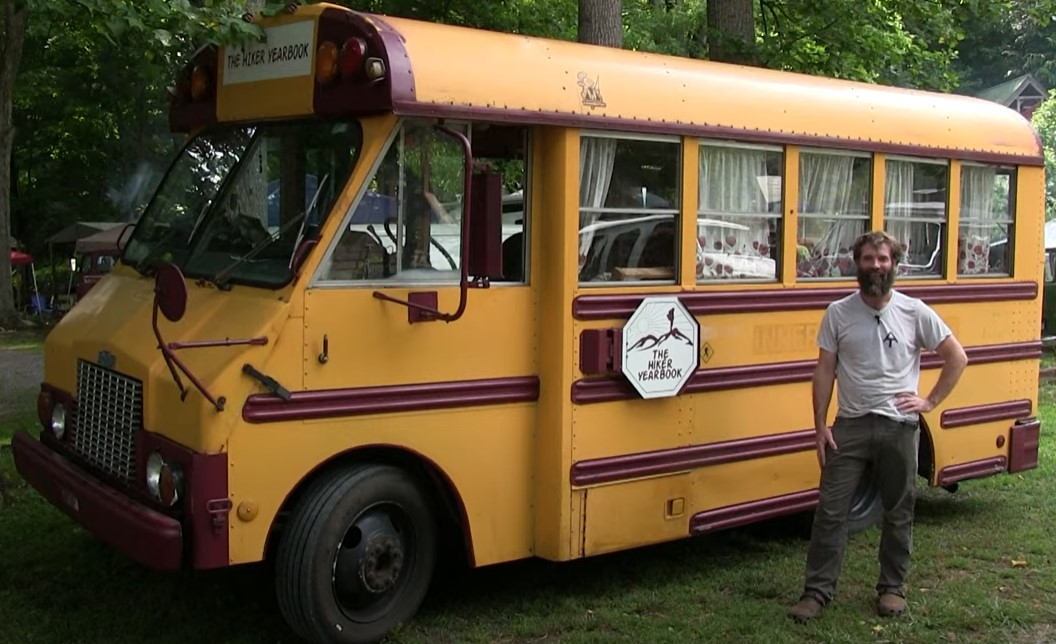Odie's 1987 Hiker Yearbook Bus