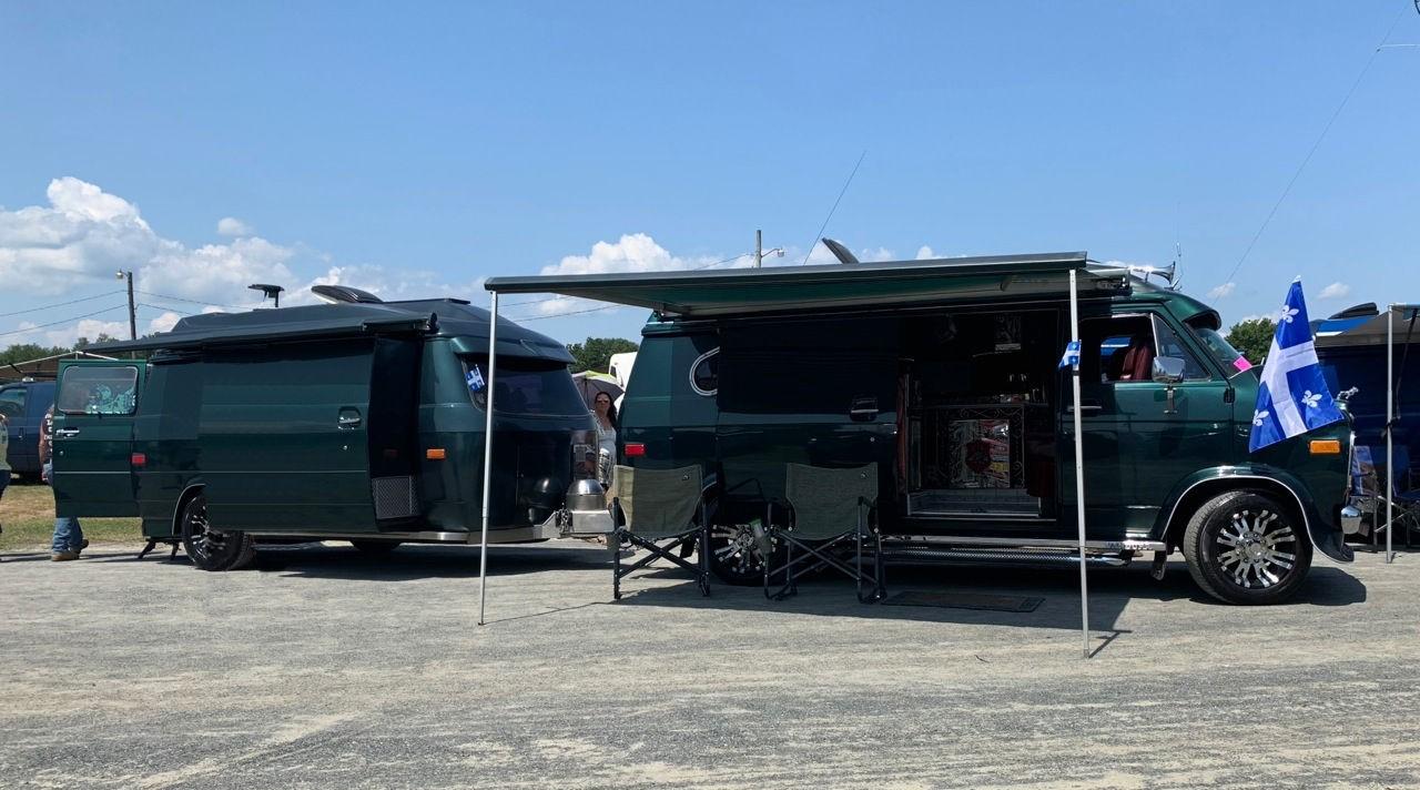 Michel &Taris' Iron Van w/Van Camper