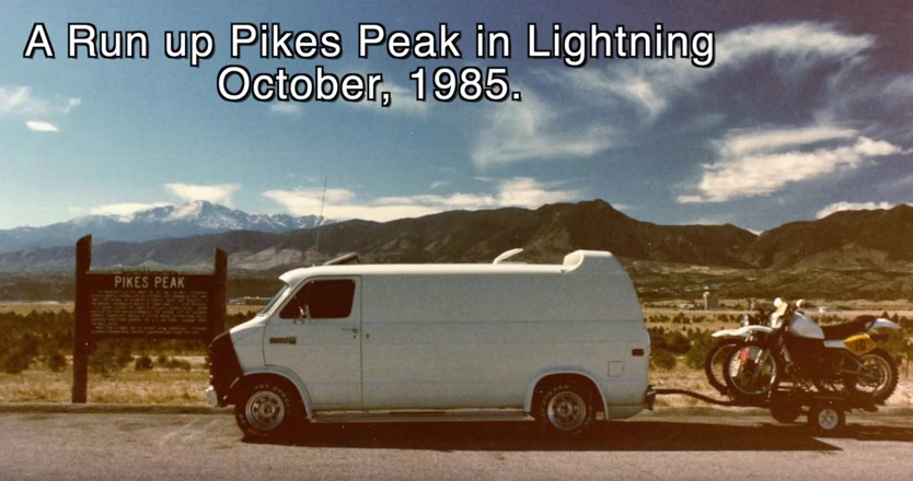 Lightning at Pikes Peak 85