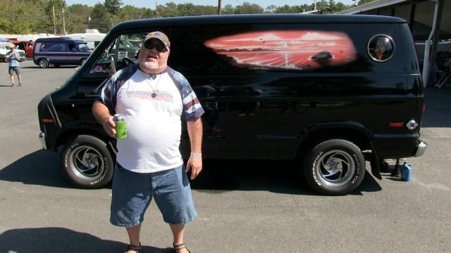 """John DeLuca's 1976 Dodge """"Vanatic"""