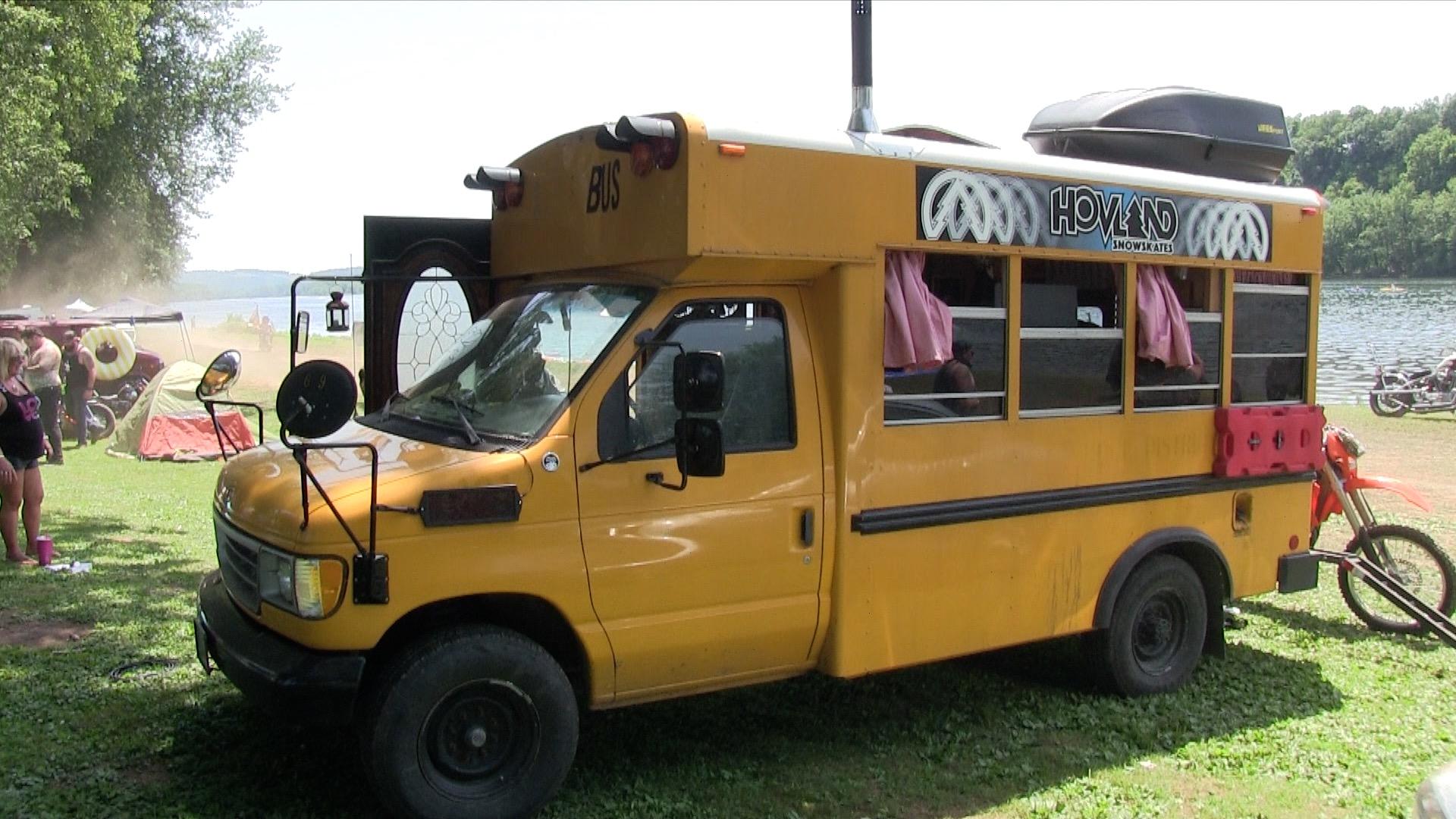 Ben Schimer's Cool Bus