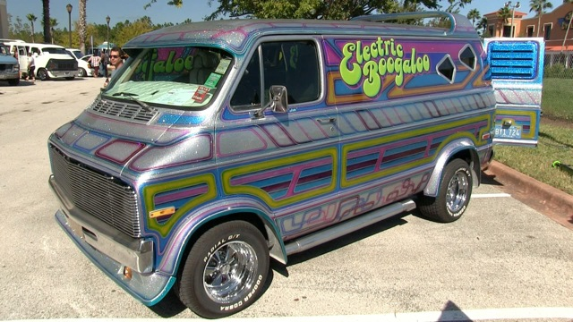 Josh Wheeler's Electric Boogaloo Van