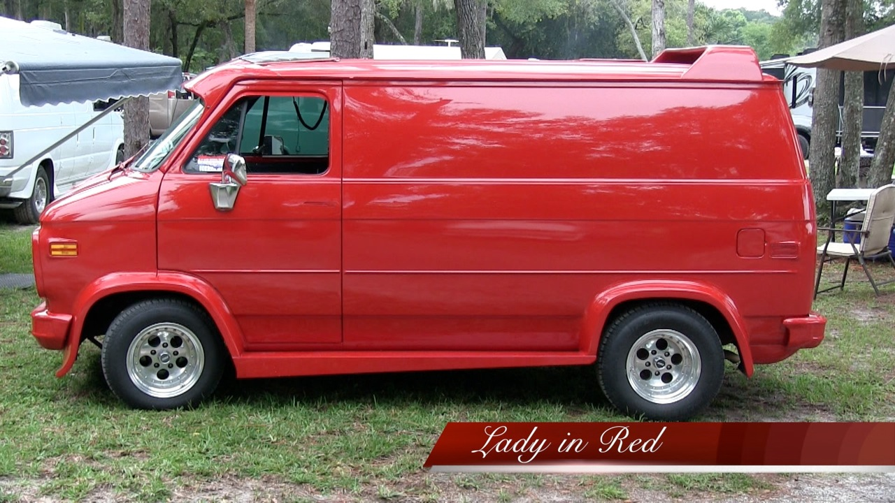 "Colleen Conko's ""Lady in Red"" Van"