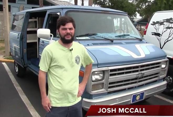 Josh McCall 1987 Chevy Van