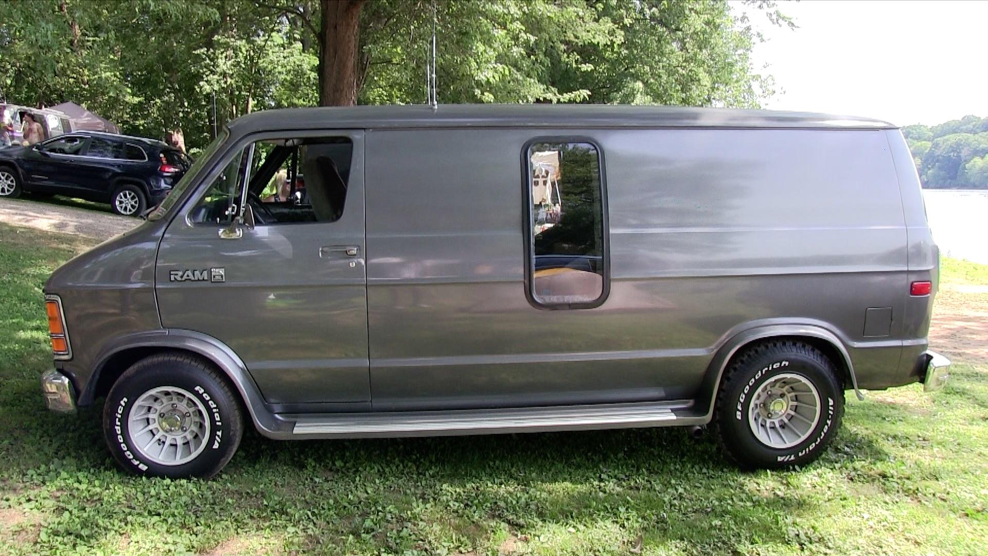 David Krivda's 87 Silver Dodge