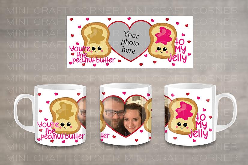 PNG - Valentine's Day Mug Design