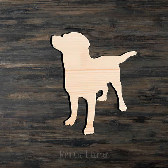 Dog Wooden Cutout