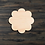 Thumbnail: Flower Wooden Cutout 3