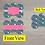 Thumbnail: DIGITAL Pink Rainbow Dog Tag File