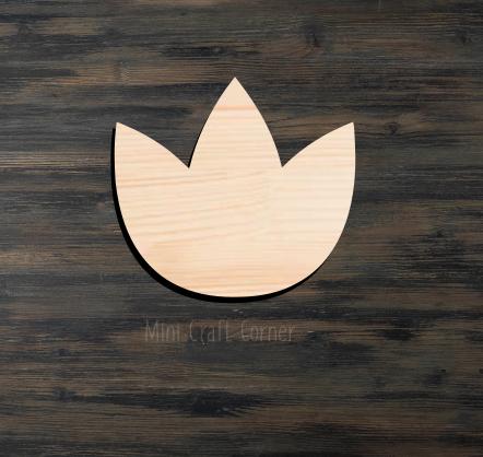 Tulip Flower Cutout