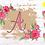 Thumbnail: DIGITAL Floral Burlap Letters