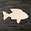 Thumbnail: Fish Wooden Cutout