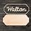 Thumbnail: Name Sign Wooden Cutout