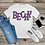 Thumbnail: DIGITAL Purple Cheetah Letters PNG Files