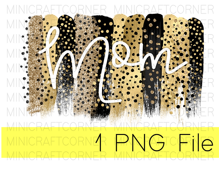 PNG -Mom Cheetah Design File