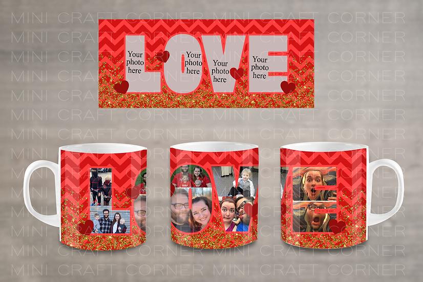 PNG - Valentine's Day Mug Design 8