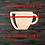 Thumbnail: Coffee Cup Wooden Cutout