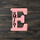 Thumbnail: Letter with Name Wooden Cutout