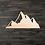Thumbnail: Mountain 2 Wooden Cutout