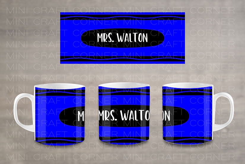 PNG - Crayon Mug Design
