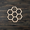 Thumbnail: Honeycomb Wooden Cutout