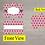 Thumbnail: DIGITAL Navy and Pink Dot Dog Tag File