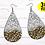 Thumbnail: DIGITAL Sublimation Glitter Earrings