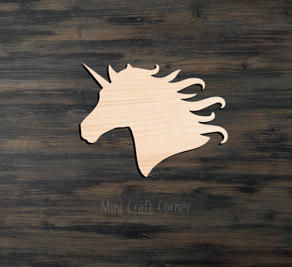 Unicorn Wooden Cutout
