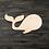 Thumbnail: Whale Wooden Cutout