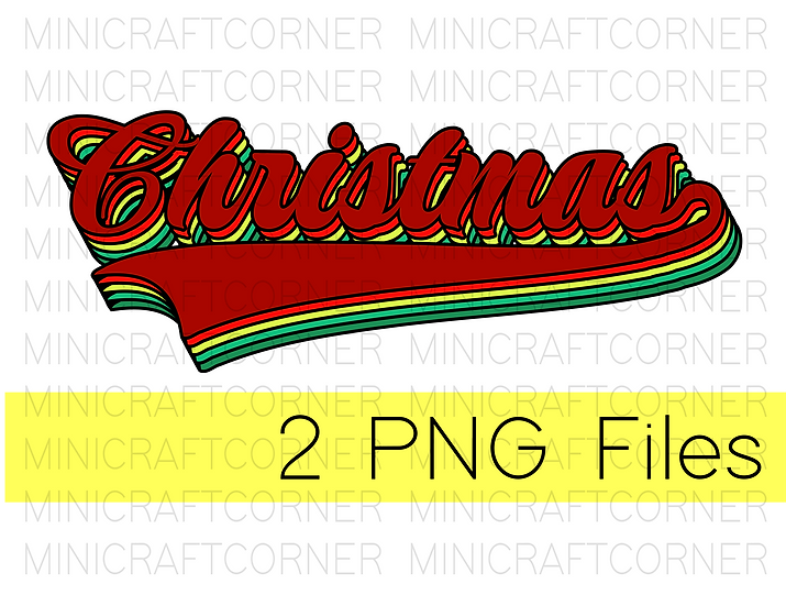 PNG -Christmas Layered Look Design File