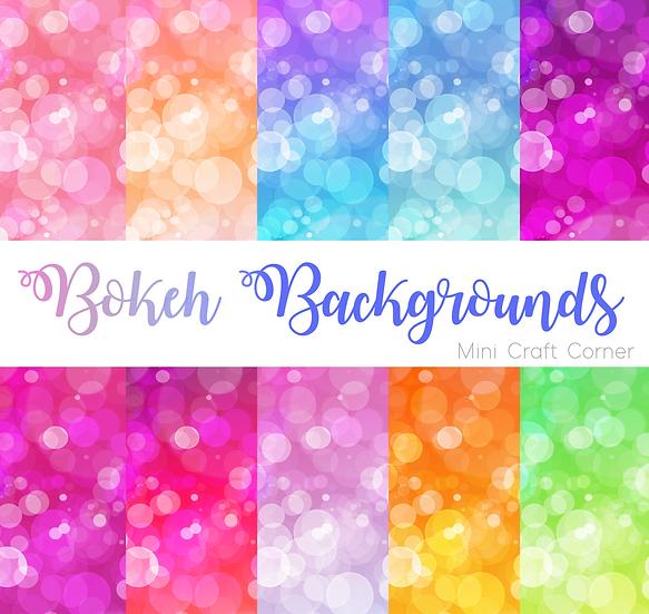 DIGITAL Ombre Bokeh Backgrounds