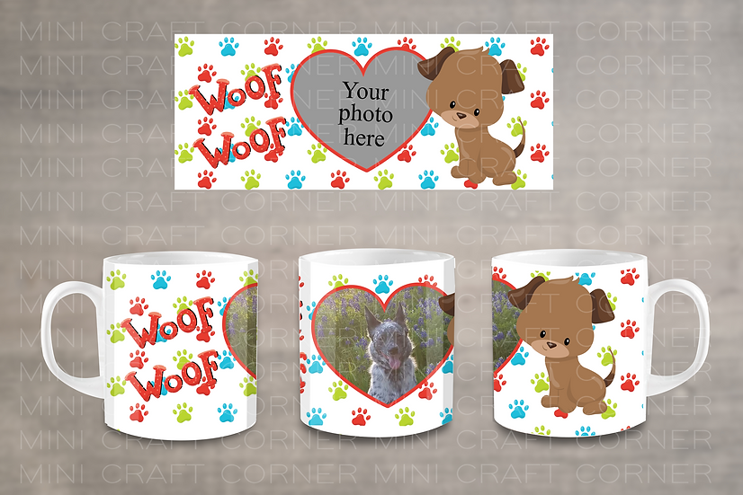 PNG - Dog Mug Design