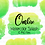 Thumbnail: DIGITAL Green and Yellow Ombre Watercolor Paint Splotch