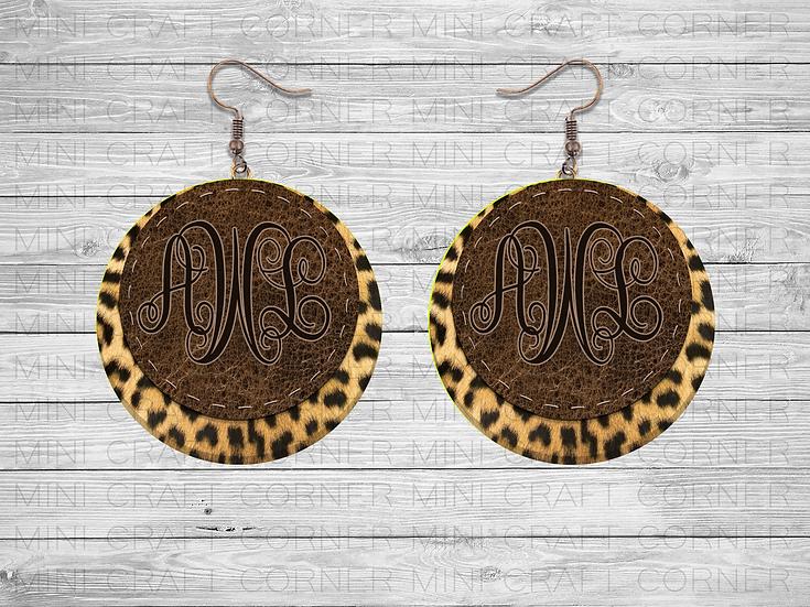 PNG Animal Print Earring Designs 2