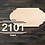 Thumbnail: Porch Numbers Wooden Cutout