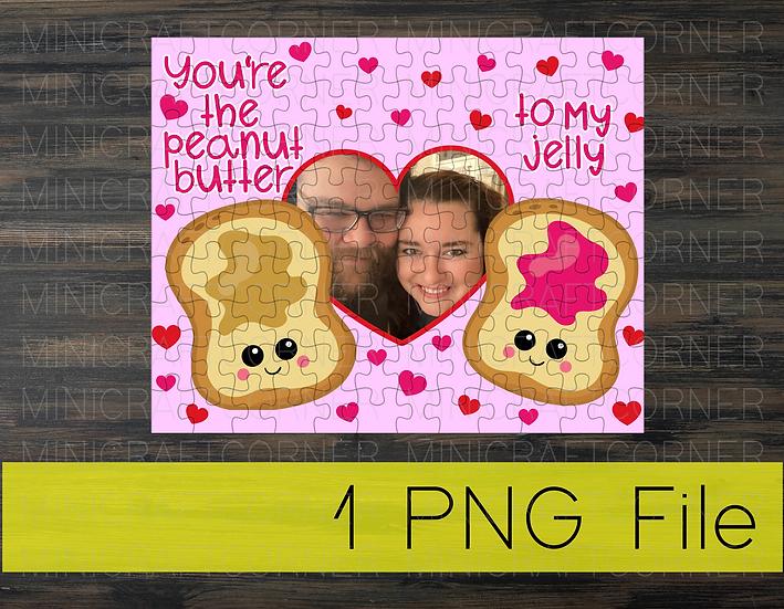 PNG - Valentine's Puzzle Design