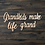 Thumbnail: Grandkids Make Life Grand Wooden Cutout