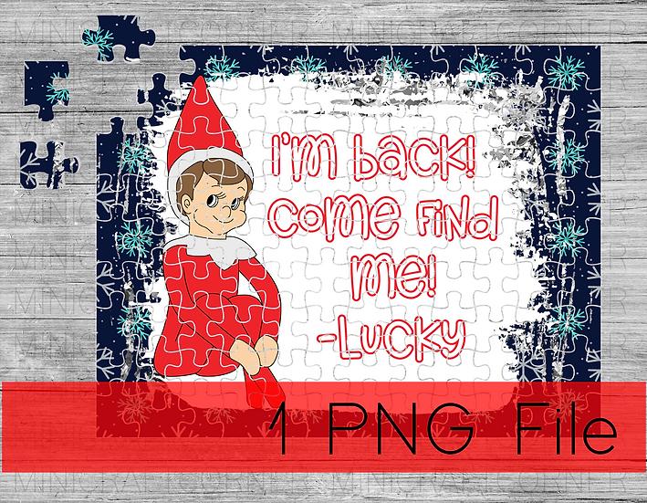 PNG - Elf Puzzle Design